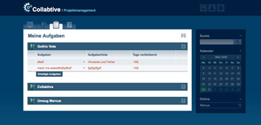 collabtive project management software